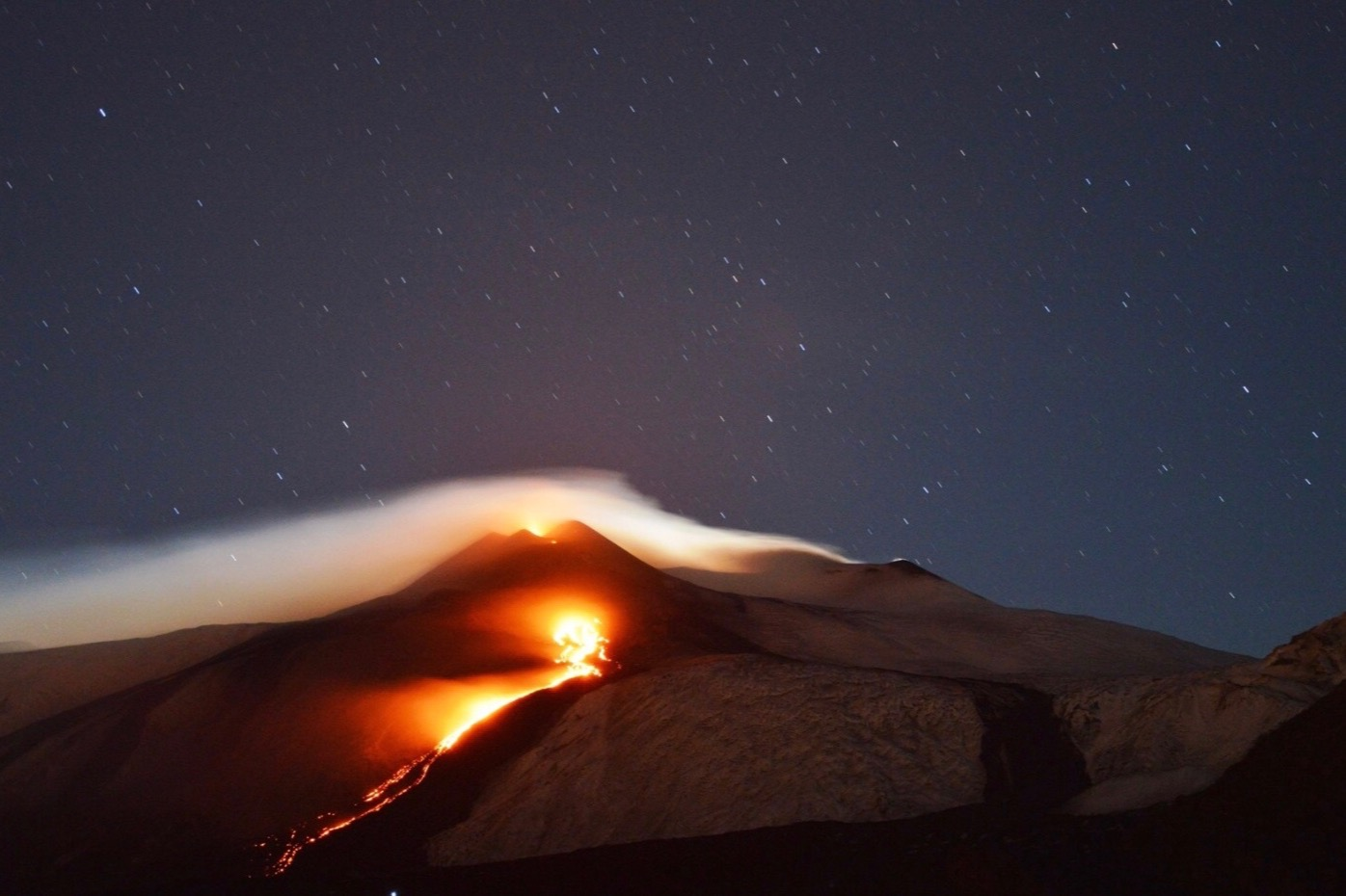 A DRIVE TO MOUNT ETNA