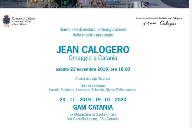 OMAGGIO A CATANIA JEAN CALOGERO