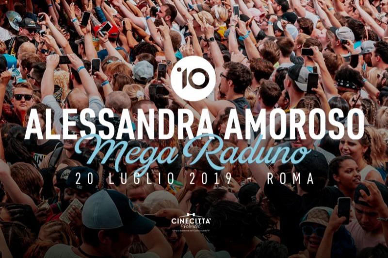 Week-end a Roma e Megaraduno di Alessandra Amoroso
