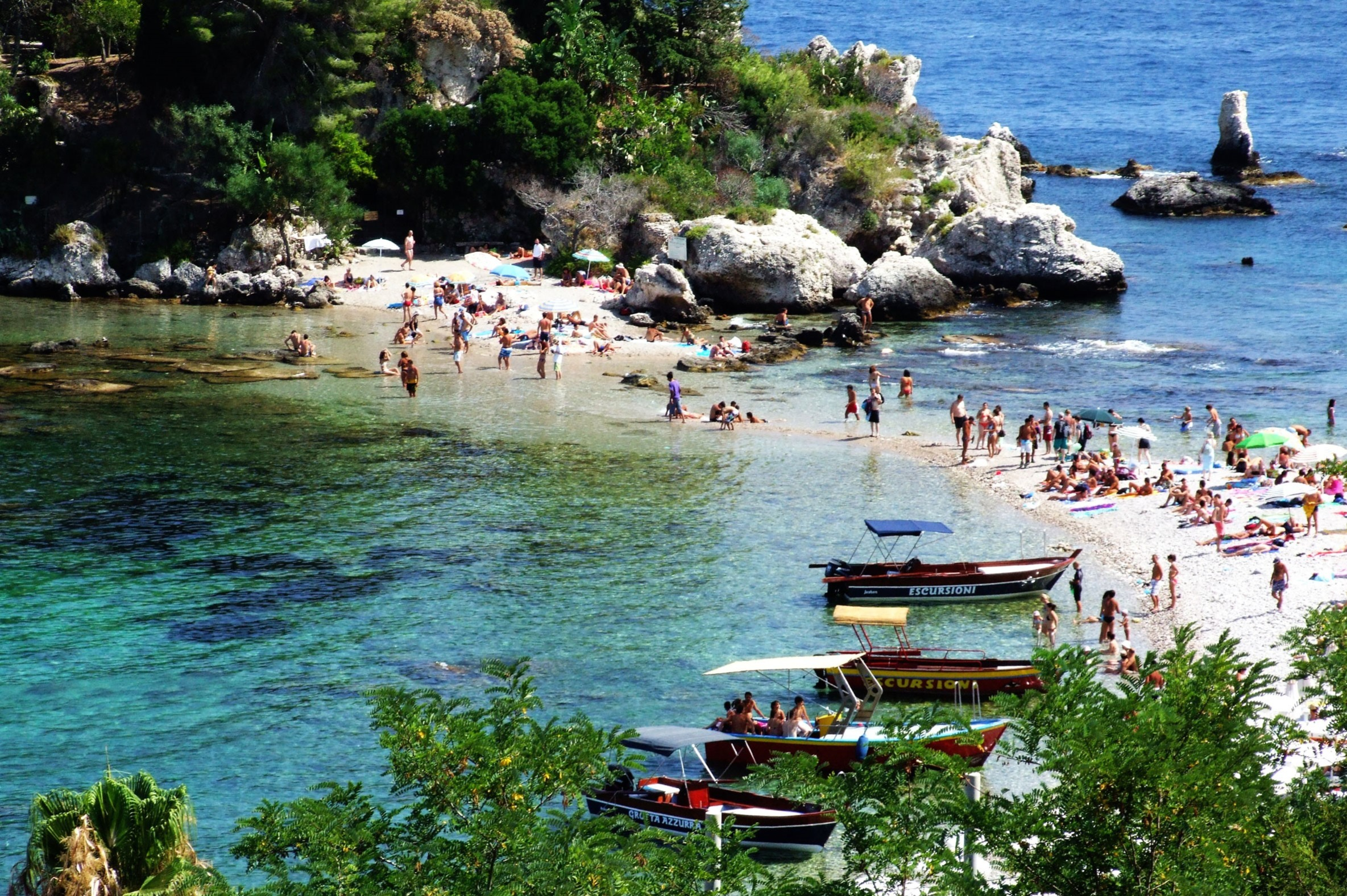 Tour Taormina - Isola Bella - Castelmola